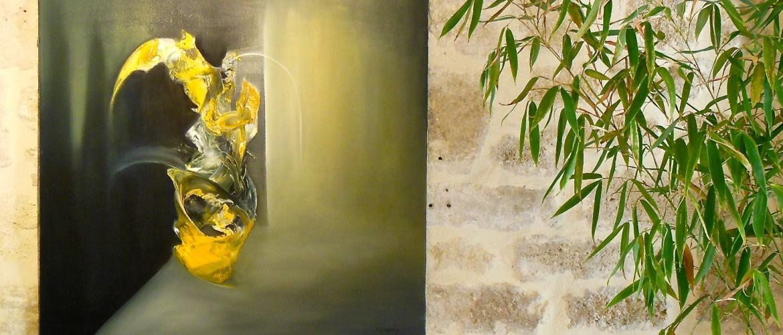 Villedary artiste peintre Uzès Provence